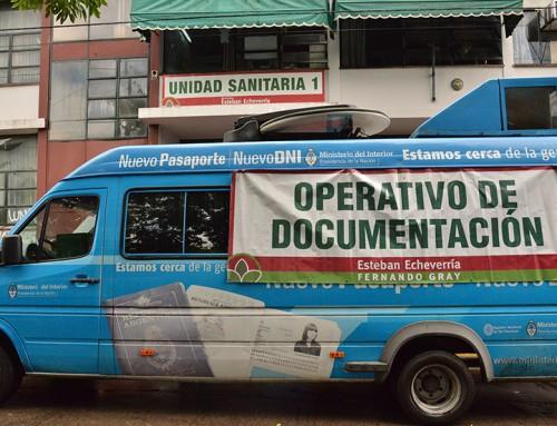 Operativo de Documentación en Luis Guillón
