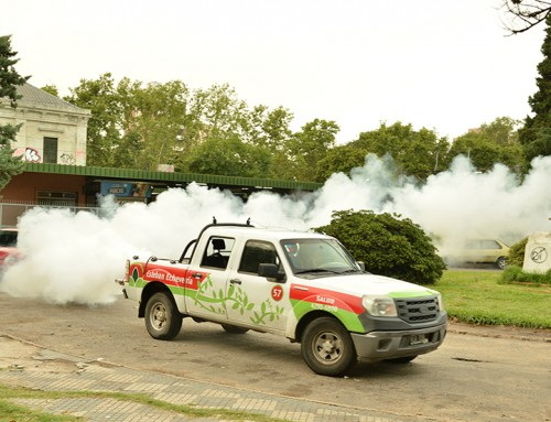 El municipio continúa con plan de fumigación ambiental para reducir la población de mosquitos