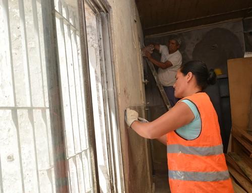 """Avanzan las tareas de remodelación del hogar de tránsito """"Maria Teresa de Calcuta"""""""