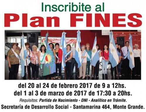 Comienza la inscripción al Plan Fines