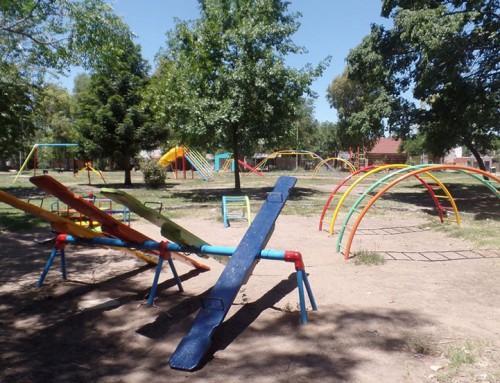 Renovaron la plaza Alfonsina Storni en El Jagüel