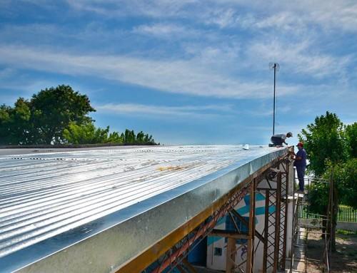 Continúan las obras en las Escuelas Primarias 2 y 48 en Monte Grande