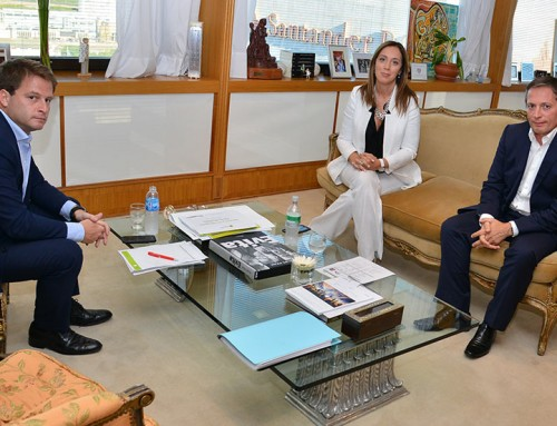 Fernando Gray se reunió con gobernadora Vidal, para repasar agenda de gestión del distrito