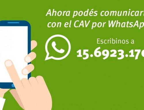 Los vecinos podrán comunicarse con el Municipio por Whatsapp de manera gratuita