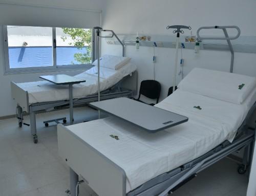 Ya funciona la nueva área de internación del hospital santamarina