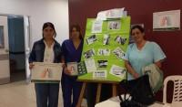 En el marco del Día Mundial de la Tuberculosis, el Municipio de Esteban Echeverría, a través de la Secretaría de Salud, llevó a cabo una jornada de concientización en el hall del Hospital Santamarina, en Alvear 350, Monte Grande.