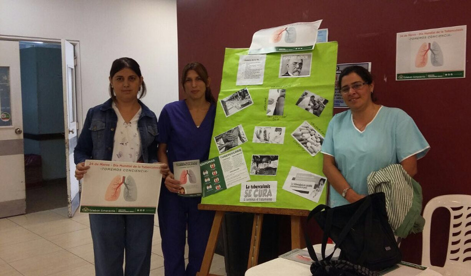 El municipio realizó jornada de concientización por la tuberculosis