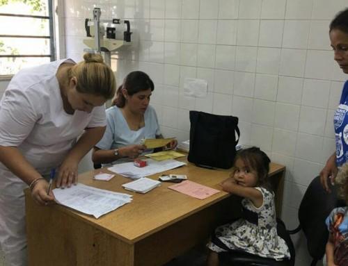 Más de 100 personas atendidas en operativo de salud en Monte Grande