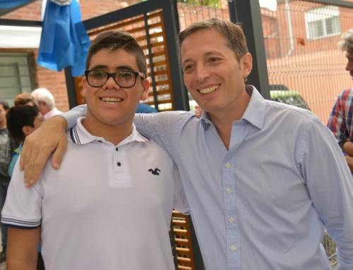 Fernando Gray participó de la inauguración de nuevo edificio de la escuela especial EPEN