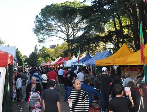 Feria de las colectividades en El Jagüel