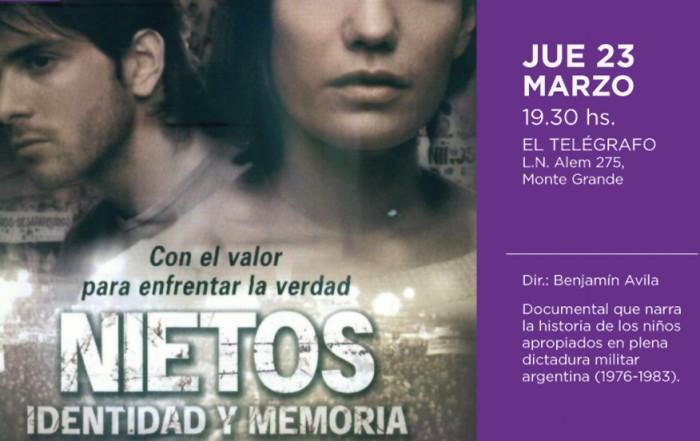 El Municipio de Esteban Echeverría, a través de la Subsecretaría de Cultura, invita a los vecinos a participar de la proyección gratuita del film