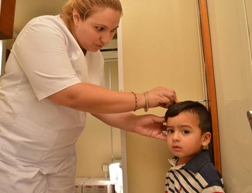 Nuevo operativo de salud para chicos y embarazadas en barrio La Morita