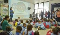En el marco del Día Mundial del Agua, el Municipio de Esteban Echeverría, a través de la Subsecretaría Agencia para el Desarrollo Sostenible, realiza charlas educativas sobre medioambiente en distintas escuelas del distrito.