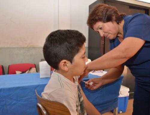 Nuevo operativo de salud  en  barrio La Victoria