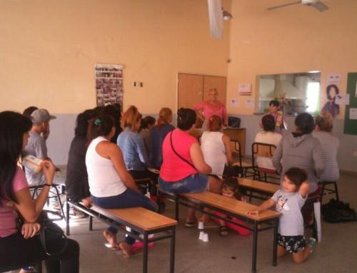Continúan los talleres de prevención y control sanitario en la semana de la mujer