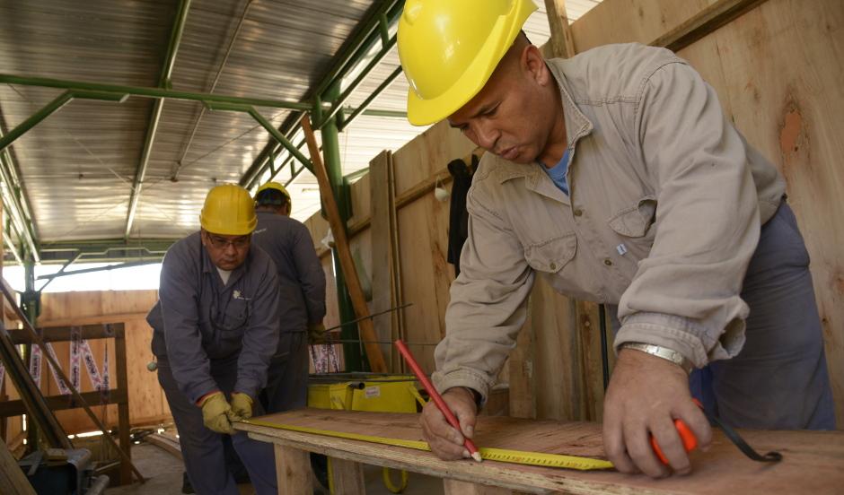Avanza la obra de remodelación en la estación de Monte Grande