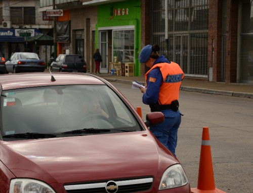Operativos de seguridad y prevención vial en todo el distrito