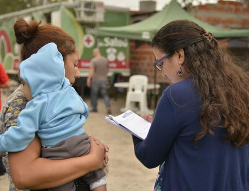 Operativo especial de salud para niños en Barrio El Zaizar