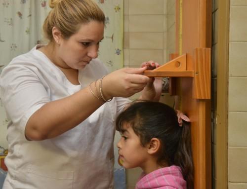 Operativo sanitario para chicos y embarazadas en barrio La Victoria