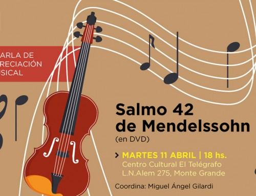 Charla de apreciación musical en El Telégrafo