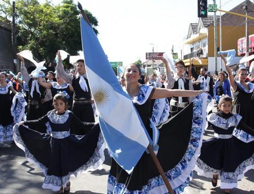 Fernando Gray inauguró el tradicional desfile gauchesco de Centros Tradicionalistas