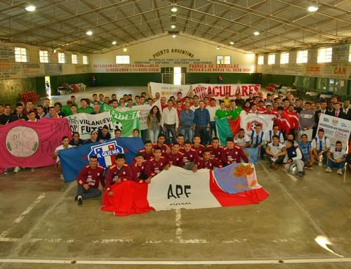 Fernando Gray encabezó apertura del 2° Torneo Sudamericano de Futsal