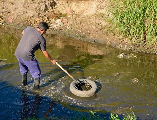 El municipio ejecuta tareas de limpieza en Arroyo Ortega