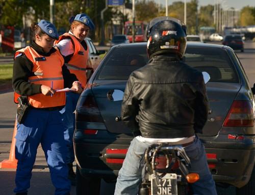 Continúan los controles de tránsito en Canning y Luis Guillón