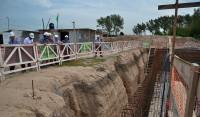 Se trata de una planta de ósmosis, ubicada en El Jagüel, que permitirá abastecer con agua segura e inmediata a más de 40 mil personas de esa localidad, y que además brinda empleo a vecinos del distrito.