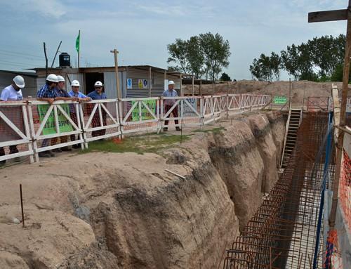 Avanza la planta de tratamiento de agua que alcanzará a 40 mil vecinos