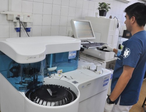 Más de 18 mil pacientes realizaron análisis en el laboratorio del Hospital Santamarina