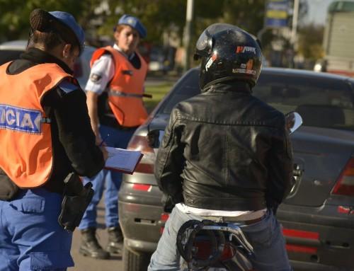 Mayores controles de tránsito en Canning y Luis Guillón