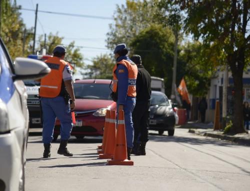 Más controles de tránsito en Luis Guillón y 9 de Abril