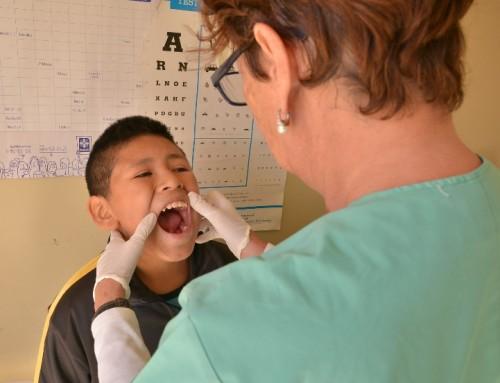 El municipio realizó controles odontológicos a niños de entre 2 y 14 años
