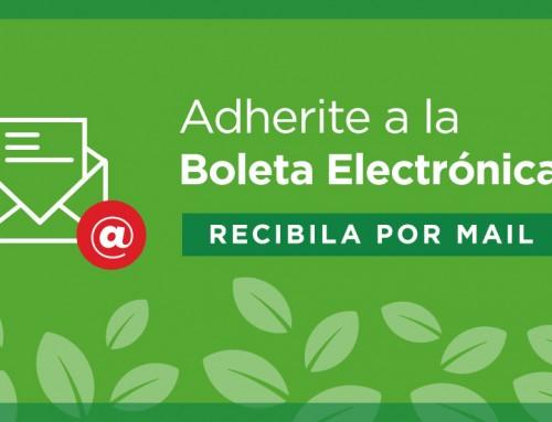 Adherite a la Boleta Electrónica del Tributo Municipal por la Propiedad en Esteban Echeverría.
