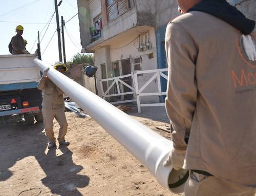 El municipio superó el 70 por ciento de cobertura de cloacas
