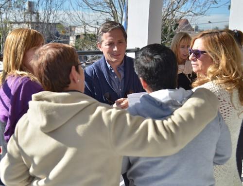 Fernando Gray inauguró nuevas aulas en la secundaria 13 en 9 de Abril