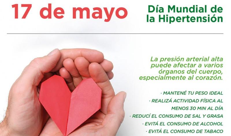 En el marco del Día Mundial de la Hipertensión, el Municipio de Esteban Echeverría realizó actividades en espacios públicos y Unidades Sanitarias, con el objetivo de concientizar a la población sobre los riesgos que genera esta enfermedad.