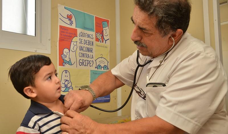 El Municipio de Esteban Echeverría llevará a cabo, esta semana, inscripciones al Plan Más Vida -con entrega de leche en polvo- y controles sanitarios a niños en distintos puntos del distrito.