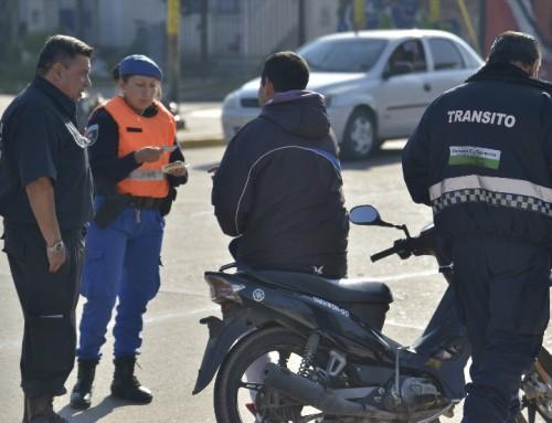 Más operativos de tránsito en todas las localidades del distrito