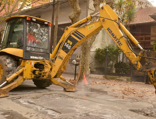 El municipio impulsa un intensivo plan de bacheo en Monte Grande