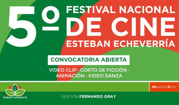 A partir de esta semana se encuentra abierta la inscripción al 5to Festival de Cine de Esteban Echeverría, oportunidad para que los amantes del cine puedan presentar sus proyectos audiovisuales, que serán expuestos, evaluados y premiados por un jurado de primer nivel.