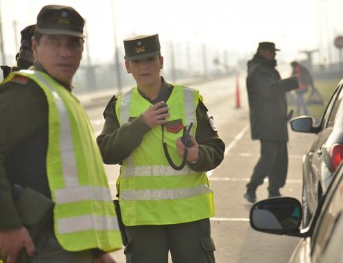 Gendarmería continúa con operativos de prevención en todo el distrito