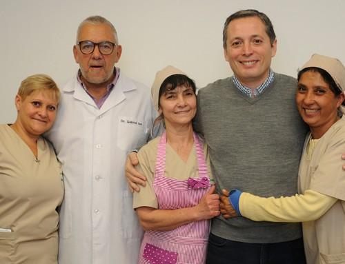 Fernando Gray participó de bendición de nuevas instalaciones del Hospital Santamarina