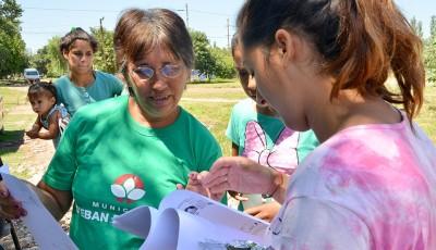 Durante mayo, el Municipio de Esteban Echeverría entregó más de 11 mil kilos de leche en polvo a 1800 familias en los operativos de inscripción al Plan Más Vida, que se realizaron en conjunto con los controles de salud.