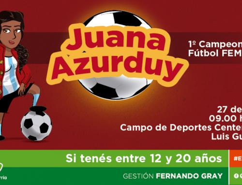"""Comienza la convocatoria al primer Campeonato de Fútbol Femenino """"Juana Azurduy"""""""