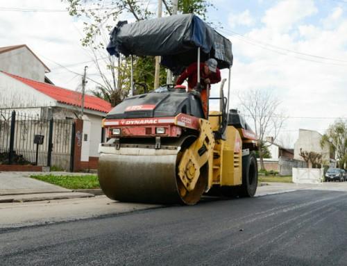 El municipio avanza con un intensivo plan de mejora integral de calles