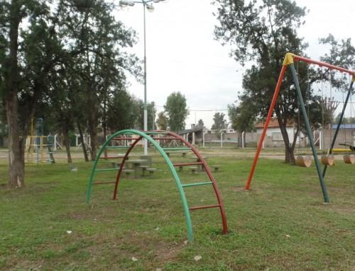 El municipio renueva la plaza Villa Gesell
