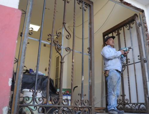 Se recuperó el portón original de la Casa de la Cultura