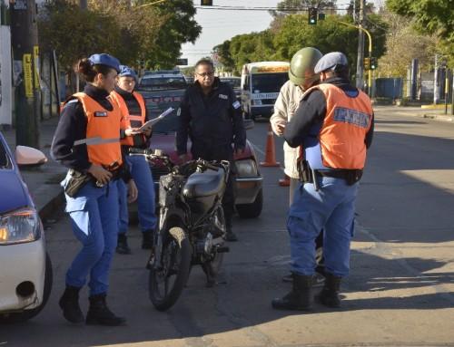 Controles de tránsito en Canning, Monte Grande y El Jagüel